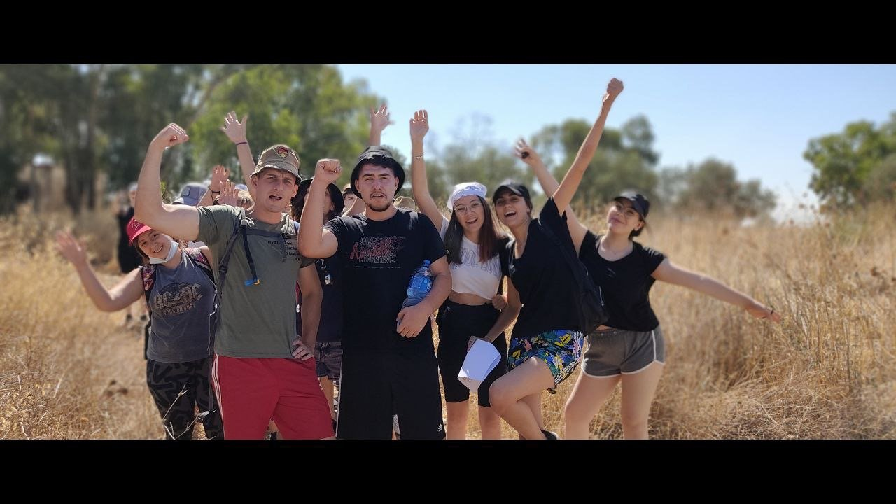 Youth discipleship camp in the Galilee